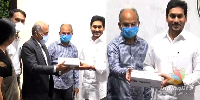 Jagan launches one lakh rapid test kits
