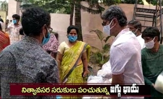 Jagapathi Babu Helping Members Of Film Industry Providing Daily Needs
