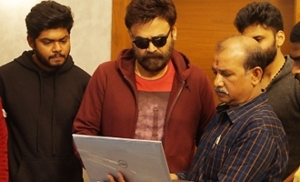 Victory Venkatesh Unveiled The Trailer Of Samudra's 'Jai Sena'