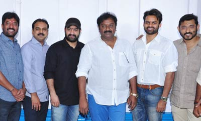 NTR @ Sai Dharam Tej's 'Jawan' Movie Launch