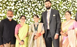 Celebs @ Jayasudha's Son Nihar Kapoor Wedding Reception