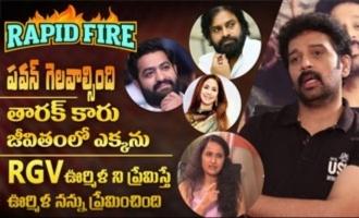 RAPID FIRE - JD Chakravarthy about Pawan Kalyan