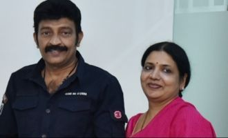 Rajasekhar & Jeevitha donate Rs 10 lakh