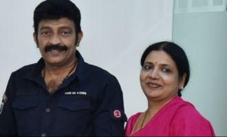 Rajasekhar & Jeevitha donate Rs 10 lakh