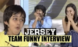 JERSEY team most funny interview