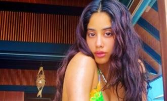 Pic Talk: Janhvi Kapoor stuns in floral bikini