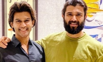 Viral Pics: Abhijeet spends time with Vijay Deverakonda