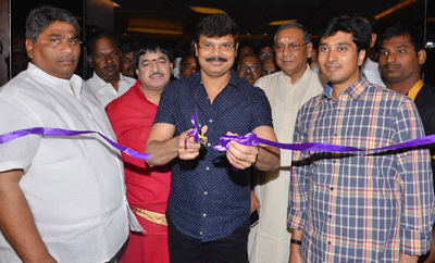 Boyapati & Bobby Launches JLE Cinemas In Guntur