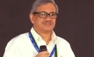 Journalist shouts at ISRO scientist, says sorry