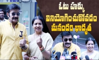 Our duty to use right to vote: Jeevitha Rajasekhar