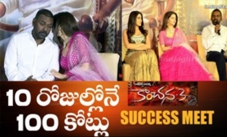 Kanchana 3 Success Meet