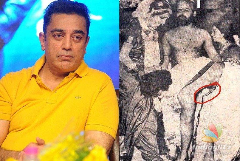Kamal 'hurts' Brahmins, old pic shows his 'hypocrisy