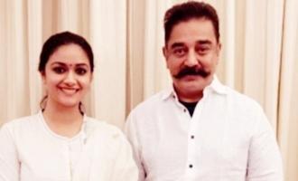 Keerthy Suresh working with Kamal Haasan? Know the truth