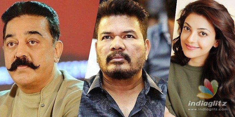 Kamal, Shankar, Kajal luckily got saved from major accident