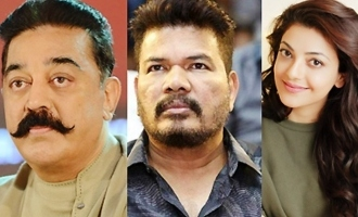 Kamal, Shankar, Kajal luckily got saved from major accident