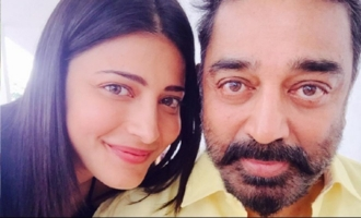 Kamal says no to caste, Shruti Haasan says yes to caste