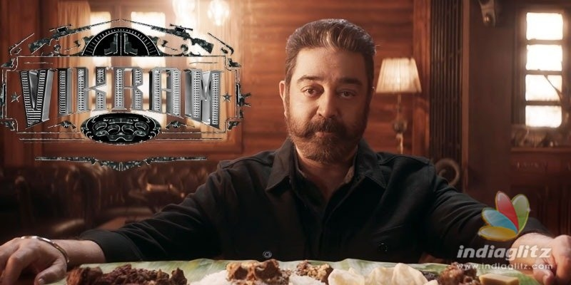 కమల్ 232వ చిత్రం`విక్రమ్`..టీజర్ విడుదల