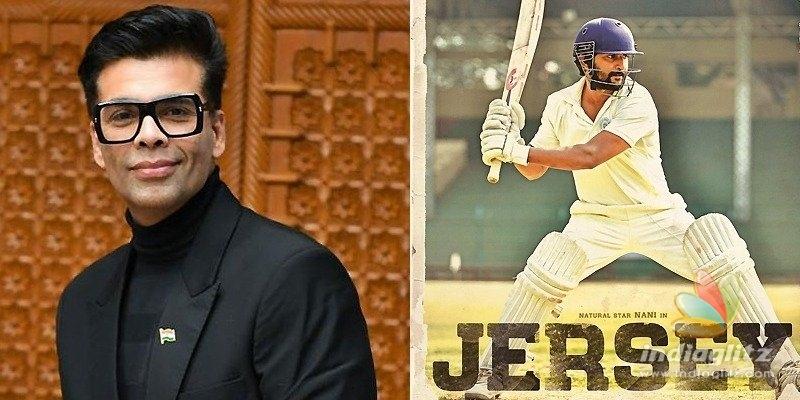 Karan Johar buys remake rights of Jersey: Reports