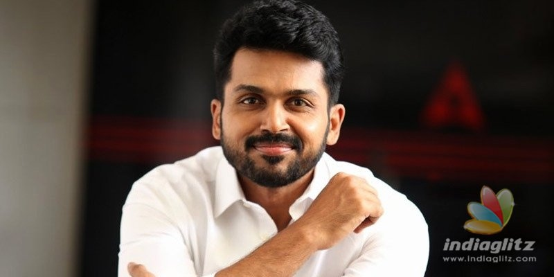 Karthi is grateful as his movie grosses Rs 50 Cr