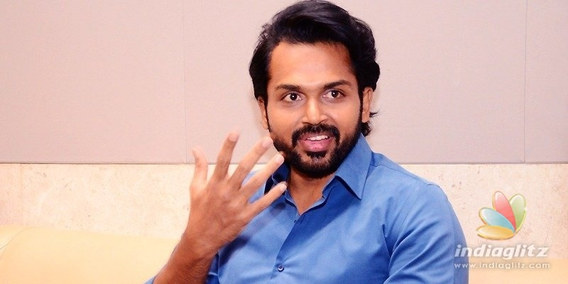 Khaidi is engaging, action-driven: Karthi