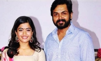 Karthi, Rashmika Mandanna are relieved as 'Sulthan' shoot is done