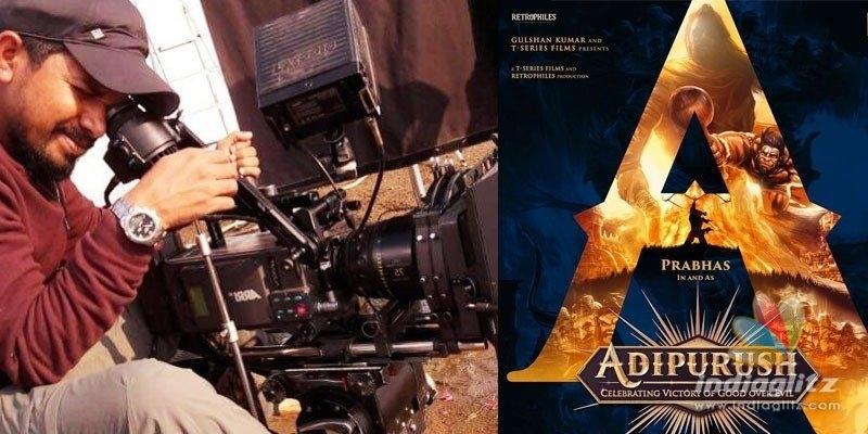 Prabhas Adipurush has the cinematographer of Brand Babu