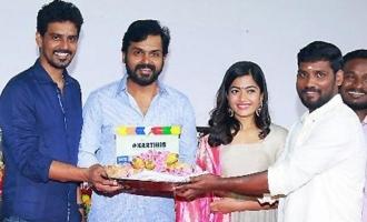 Karthi - Rashmika Mandanna New Movie Launch