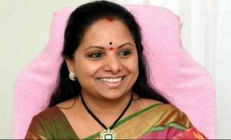 TRS MP Kavitha 'embarrasses' Tollywood hero!