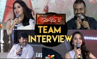 Kanchana 3 Team Telugu Interview