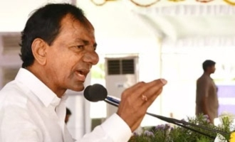 KCR comments on rivals at meeting
