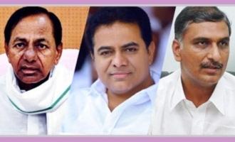 BJP MP comments on KCR KTR Harish Rao