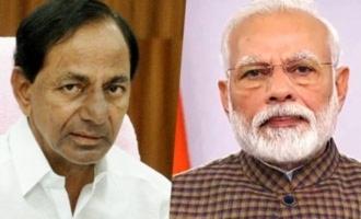 KCR writes a letter to Modi regarding GST compensation