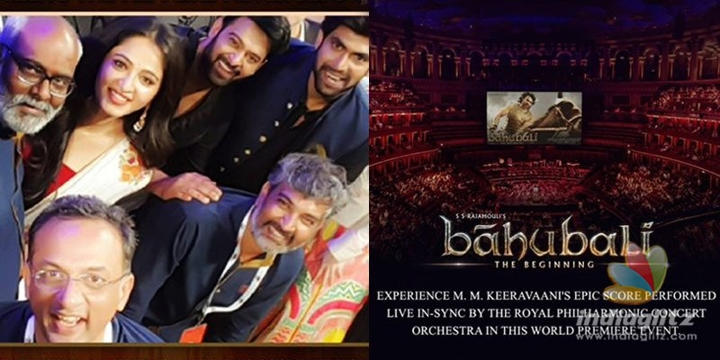 Rajamouli, Prabhas, Anushka are excited about orchestra