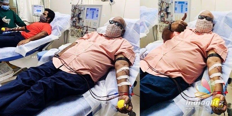 Keeravani, son donate plasma; SS Rajamouli makes a statement