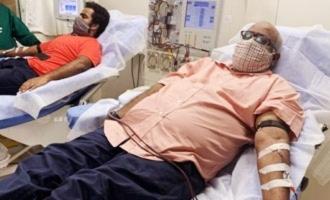 Keeravani son donate plasma SS Rajamouli makes a statement