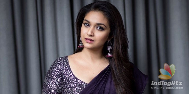 Keerthy Suresh gives fitting reply to bikini rumours