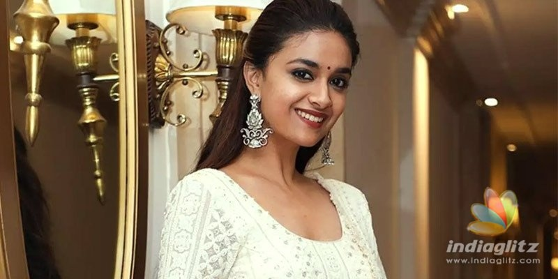 After Mahesh Babus movie, Keerthy Suresh bags Chiranjeevis
