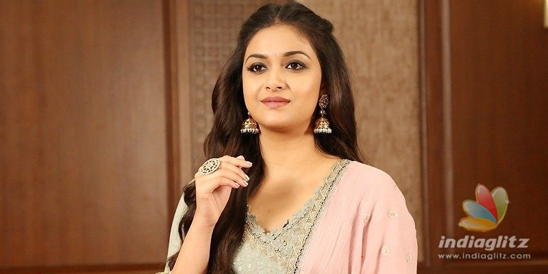 Keerthy Sureshs film: A big schedule in Spain