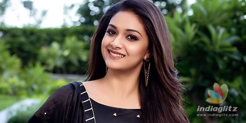 Keerthy Sureshs Hindi debut titled Maidaan
