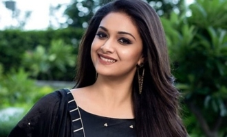 Keerthy Suresh's on-location pic leaked