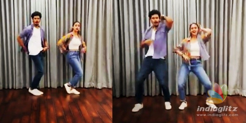Keerthy Suresh turns a fangirl, jives in a jaunty video