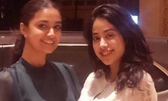 Pic Talk: Keerthy Suresh, Janhvi share friendly vibes