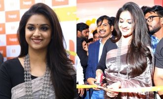 Keerthy Suresh Launches Happi Mobiles Stores In Guntur