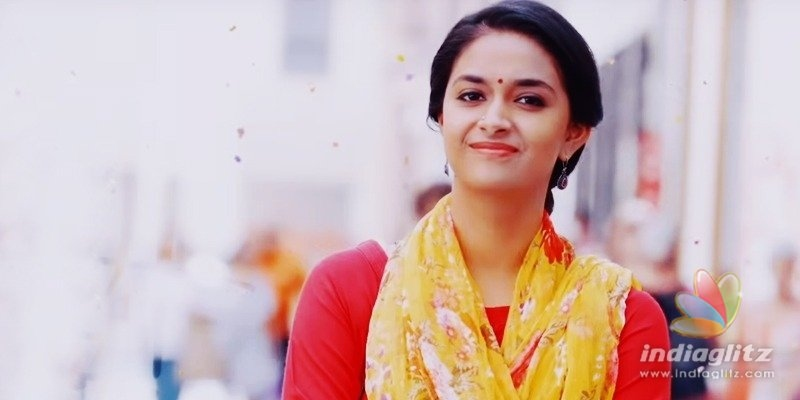 Keerthy Sureshs Miss India Birthday Song Teaser unveiled