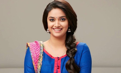 Keerthy Suresh is gaga over superstar