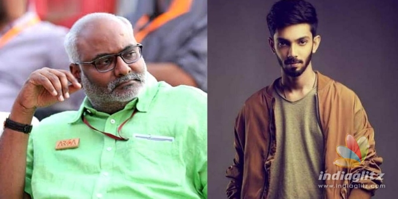 RRR song: MM Keeravani lauds Anirudhs talent