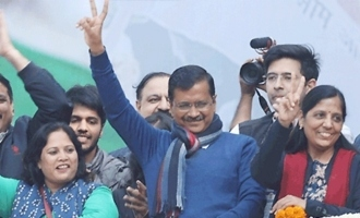 Arvind Kejriwal hat trick in Delhi elections