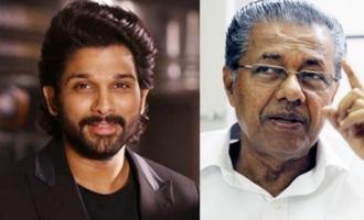 Kerala CM thanks Allu Arjun