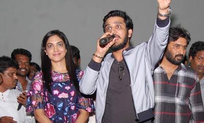 'Keshava' Team Visits Sandhya Theater , Hyd