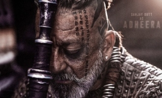 Birthday boy Sanjay Dutt gets gift from 'KGF-2' makers